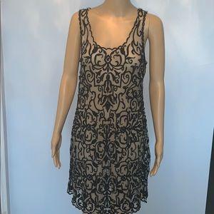 NWOT Hale Bob stretch lace mini dress